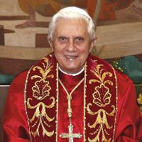 Photo of Pope Emeritus Benedict XVI
